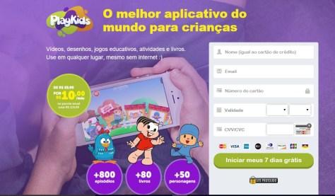 Aplicativos para bebês ou crianças pequenas
