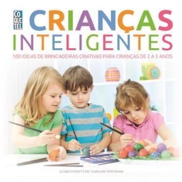capa livro crianças inteligentes