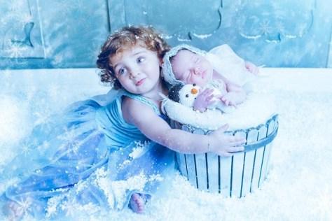 Irmãs tema frozen