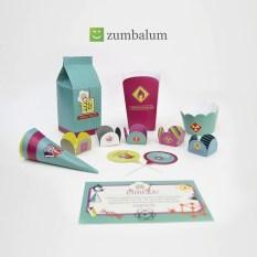 kit festa infantil no tema Cientista