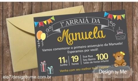 Festa Junina Infantil Dos Convites à Lembrancinhas