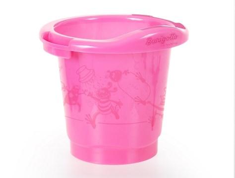 Ofurô de bebê rosa