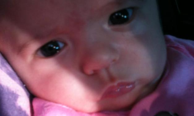 Vacina de 2 meses da Larah