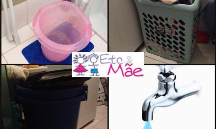 Água – Dicas para economizar