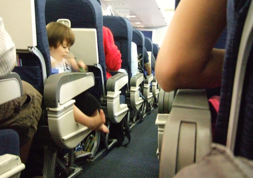 Viajar de Avião Com Crianças Pequenas