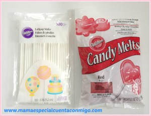 """""candy Melts"" se usa para cubrir los Cake Pops"