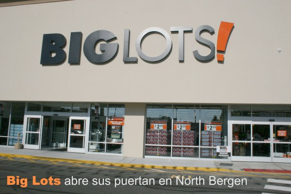 Nuevo Local de Big Lots en North bergen NJ