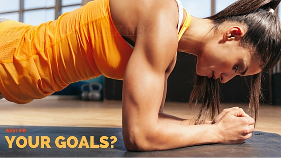 What are your goals? Personal Training Services