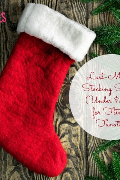 5 Stocking Stuffers for Fitness Fanatics