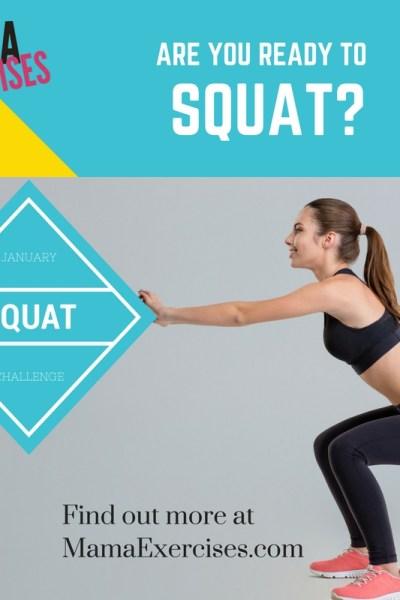 January 2017 Fitness Challenge – Squats!