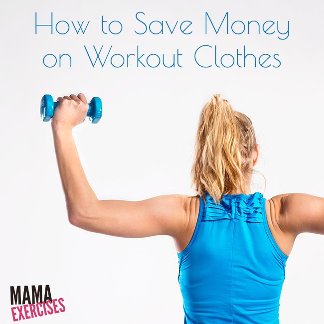 5 Ways to Save Money on Workout Clothes