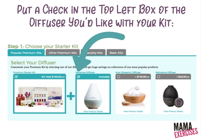 Step 3 When Ordering a Young Living Premium Starter Kit