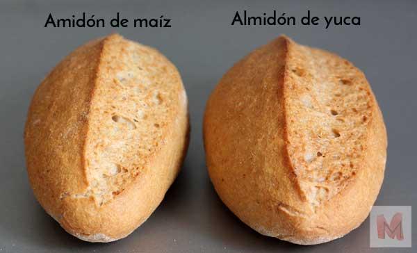 almidones panes enteros