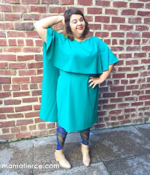 Eloquii Capelet Dress