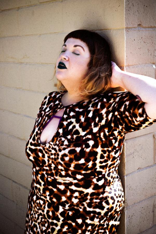 Rebdolls leopard maxi dress