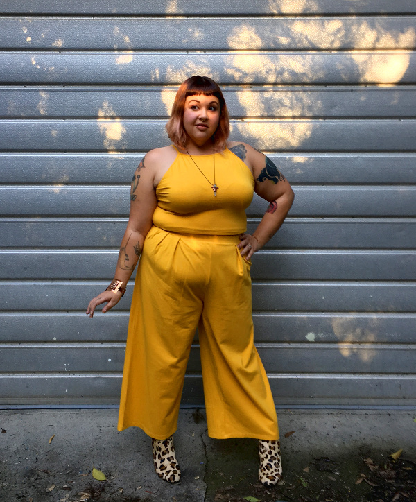 Rebdolls yellow two piece set