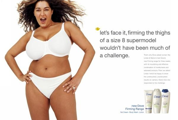 dove curves ad