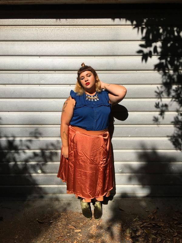 ModCloth circle skirt