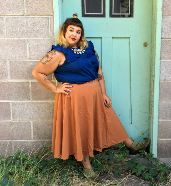 ModCloth circle skirt