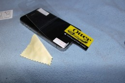 Fitting the screen protector