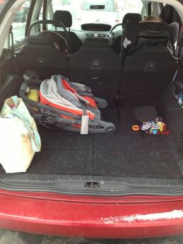 Swallowed up by our Citroen C4 Grand Picasso