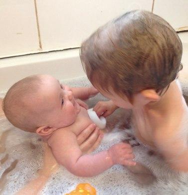 Washing Lydia