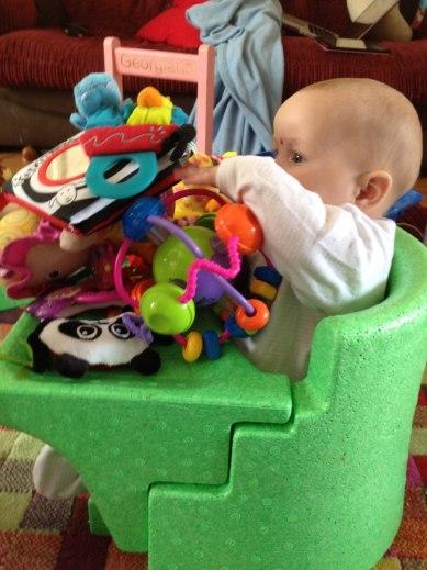 Lydia & toys