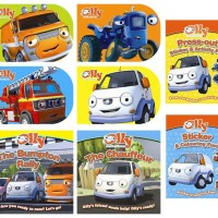 Review: Olly the Little White Van Books