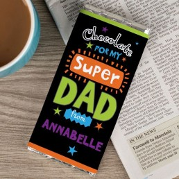 Personalised Chocolate Bar (£5.99)