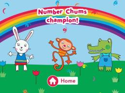 Number Chums Champion!