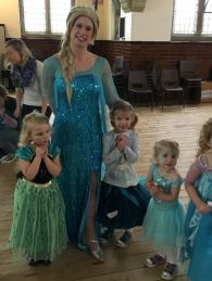 The girls and Elsa