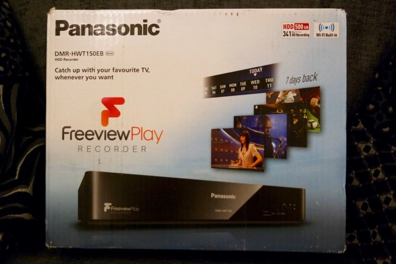 Panasonic Freeview Play HDD Recorder Review - Box