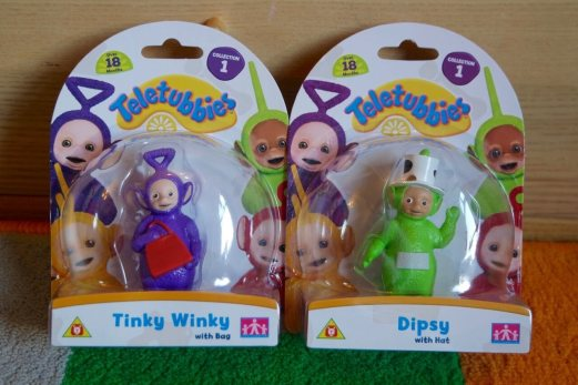 Deluxe collectable figures from the new Teletubbies toy range