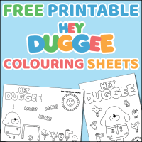 Hey Duggee Colouring Sheets - Free Printable