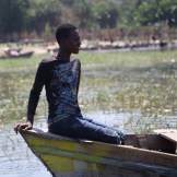 Fishing on Lake Awasa Ethiopia