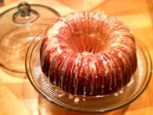 Mama Harris' infamous 7-Up cake!!