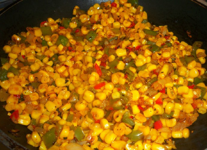 Skillet Fried Corn with a Kick! | Mama Harris' Kitchen