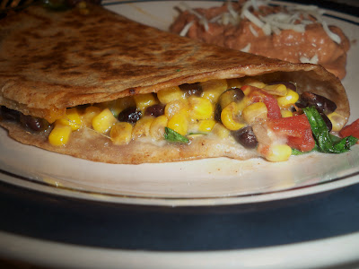 Black Bean Medley Quesadillas