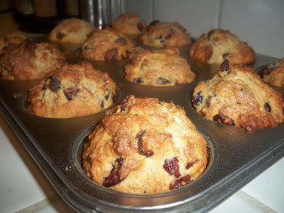 Cranberry-Coconut Muffins