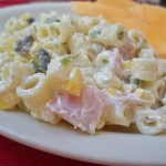 Easy Ham and Jalapeño Macaroni Salad