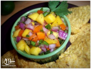 Sweet and Zesty Mango Salsa