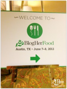 My Experience at BlogHer Food 2013!