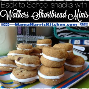 Back to School Snacks with Walkers Shortbread Minis!