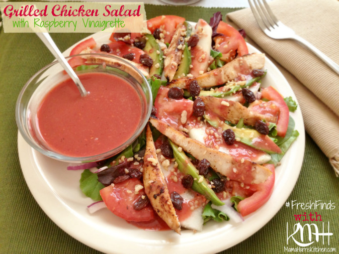 #shop Save Mart #FreshFinds Raspberry Vinaigrette grilled chicken salad 3.1