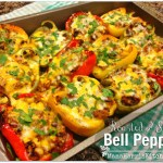 Roasted & Stuffed Bell Peppers