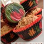 Apple, Coconut & Carrot Breakfast Muffins