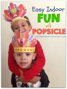 Easy Indoor Fun with Popsicle