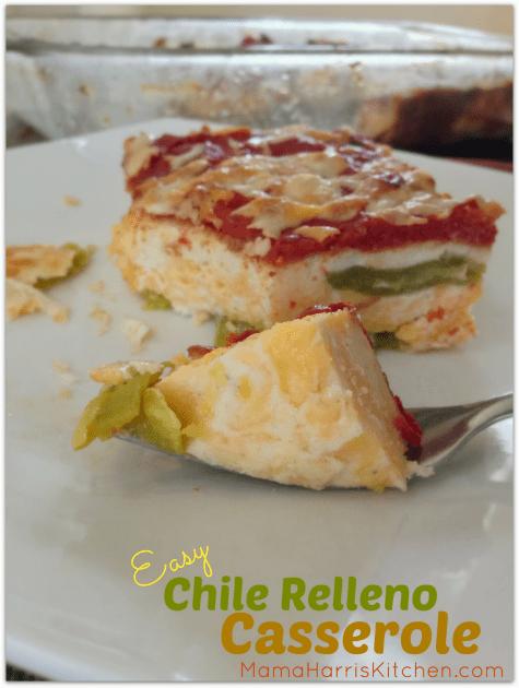 Easy Chile Relleno Casserole | Mama Harris' Kitchen