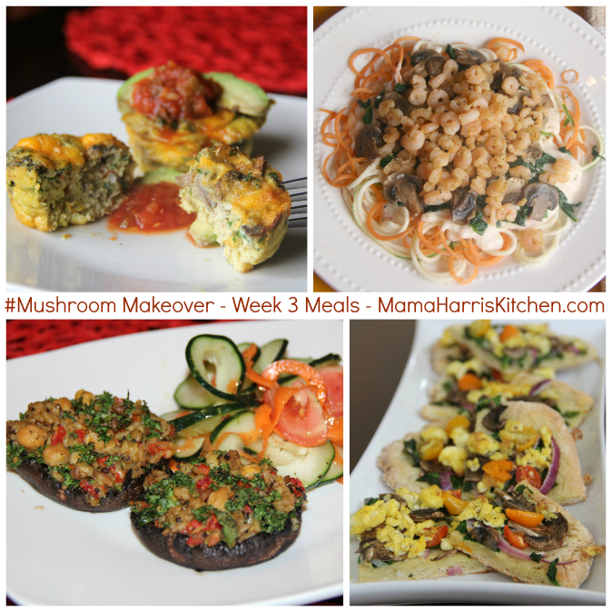 #MushroomMakeover meals