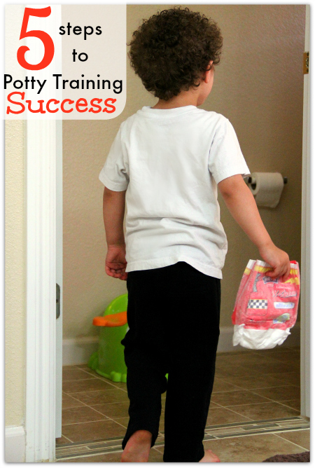 Potty Training Success